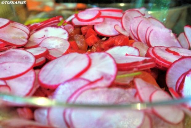 Quinoa-Salat mit Tomaten und Radieschen - Rezept - Bild Nr. 7