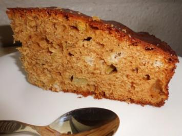 Kuchen: Whisky-Kuchen mit Rhabarber - Rezept