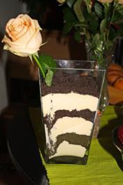 kuchen mit löffelbiskuit und quark