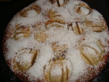 Apfelkuchen mit Schokostückchen - Rezept