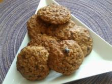 Haferflocken-Cookies - Rezept