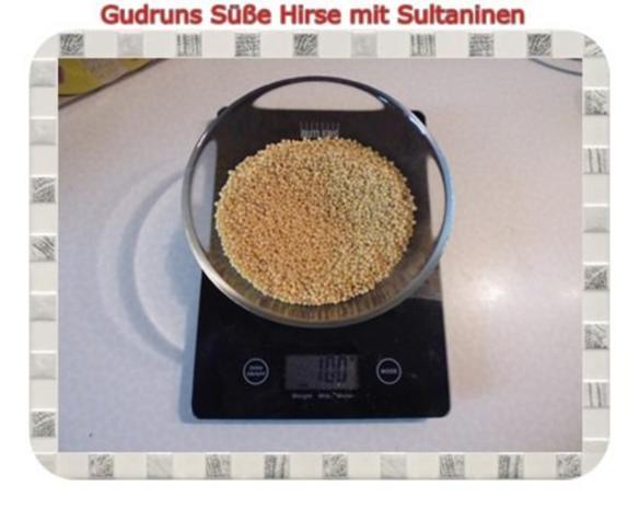 Frühstück: Süße Hirse mit Sultaninen - Rezept - Bild Nr. 2