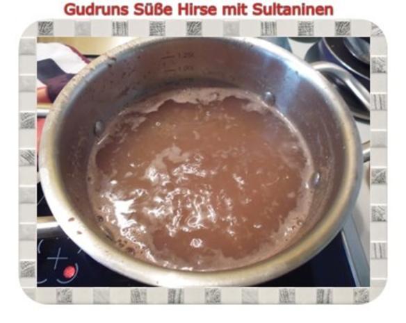 Frühstück: Süße Hirse mit Sultaninen - Rezept - Bild Nr. 4