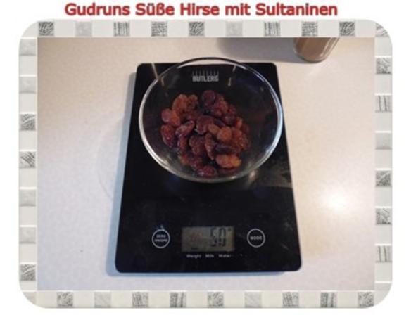 Frühstück: Süße Hirse mit Sultaninen - Rezept - Bild Nr. 5