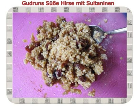 Frühstück: Süße Hirse mit Sultaninen - Rezept - Bild Nr. 9
