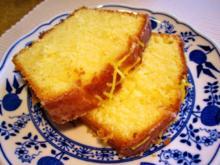 Zitronenkuchen für die  25-cm-Kastenform - Rezept