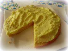Zitronen-Creme-Kuchen - Rezept