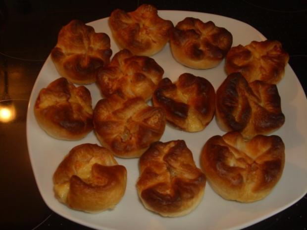 Blätterteig-Käse Muffins - Rezept