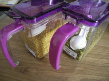 Rezept: Vorräte :  Gemüse - Salz das  X-te
