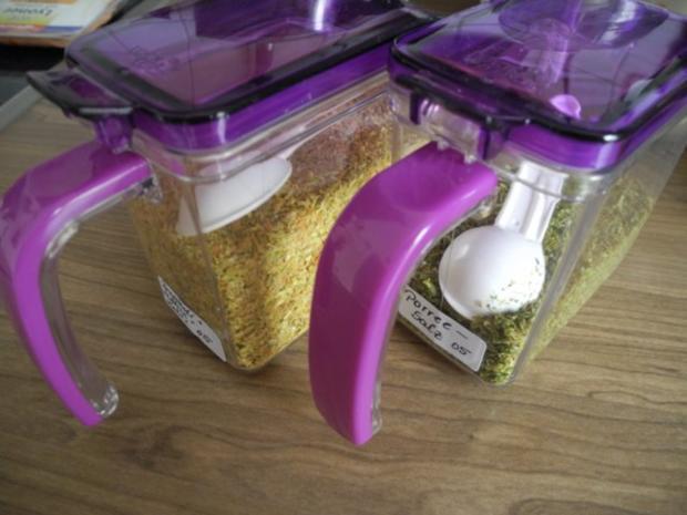 Vorräte :  Gemüse - Salz das  X-te - Rezept