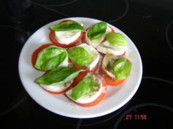 Rezept: Capri-Salat