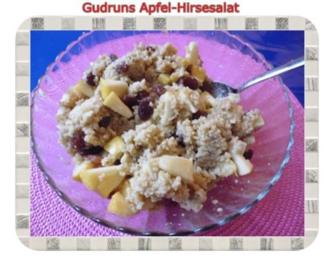Frühstück: Apfel-Hirsesalat - Rezept