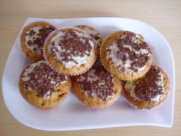 Stracciatella Muffins - Rezept