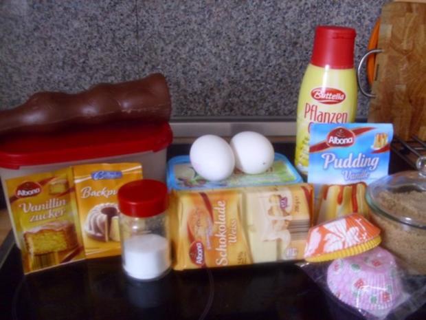 Stracciatella Muffins - Rezept - Bild Nr. 2
