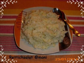 Rettich-Salat - Rezept