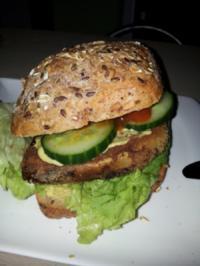 Vegi Burger mit Aubergine - Rezept