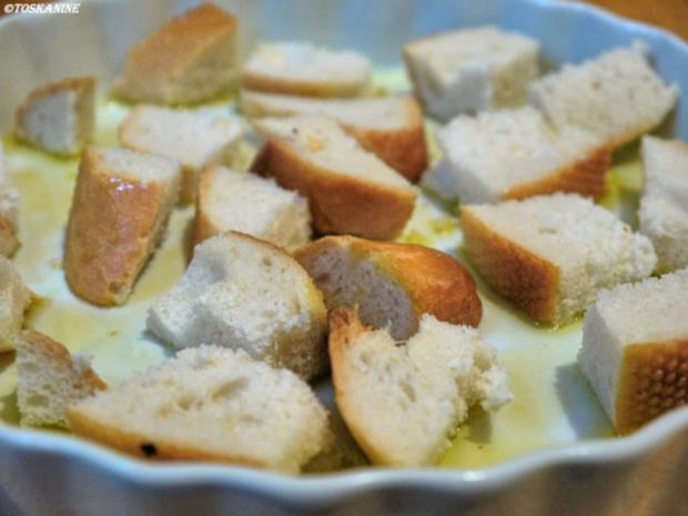Baguette-Tomaten-Auflauf mit Parmesan-Guss - Rezept - Bild Nr. 3