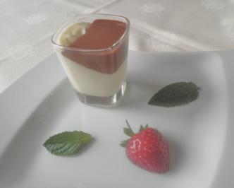 Weiße Schokoladen - Mousse ... - Rezept