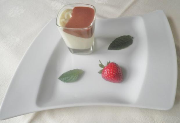 Weiße Schokoladen - Mousse ... - Rezept - Bild Nr. 2