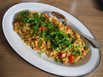 Vegan : Rührei ganz veggi - Rezept