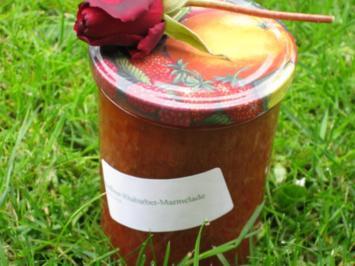 Erdbeer-Rhabarber-Konfitüre - Rezept