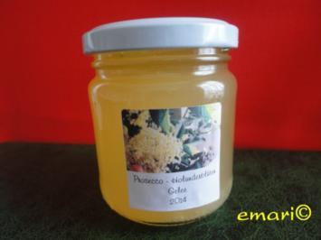 Prosecco-Holunder-Gelee - Rezept
