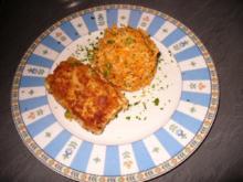 Fischfilets mit gebratenem Reis - Rezept