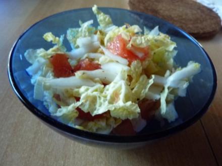 Salate: Chinakohl  Nr.2 - Rezept