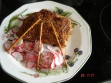 Biergartenschnitzel mit Radieschensalat - Rezept