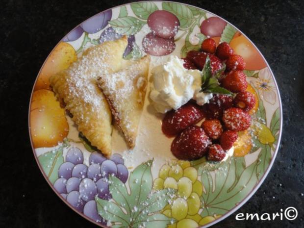 Polsterzipfel mit Erdbeer Fülle - Rezept - Bild Nr. 11