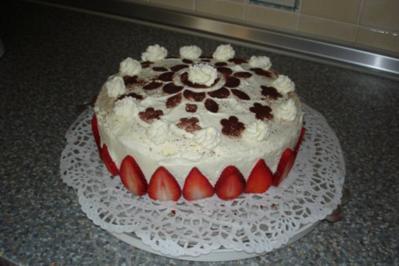 Geburtstags-Torte für meine Freundin Iris - Rezept