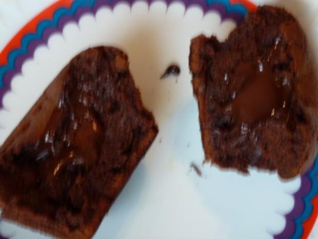 Schokoladenküchlein mit flüssigem Kern - Rezept - Bild Nr. 2