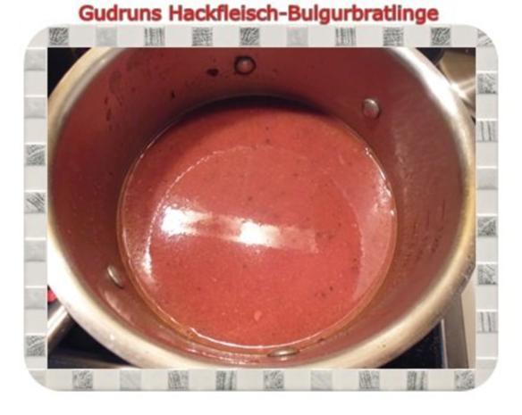 Hackfleisch: Bulgur-Hackfleisch-Bratlinge mit gedämpften Gemüse - Rezept - Bild Nr. 14