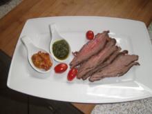 Flank Steak aus dem Ofen - Rezept