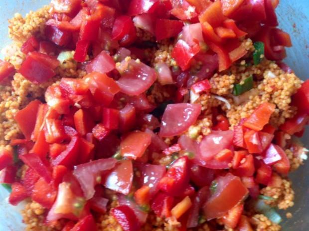 Couscous Salat mit Hirse - Rezept - Bild Nr. 5