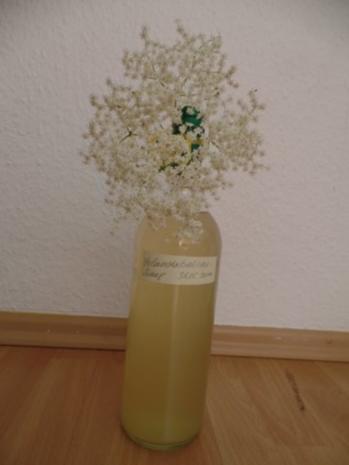 Holunderblüten-Sirup - Rezept - Bild Nr. 4