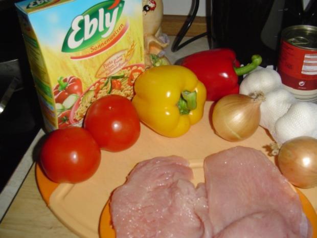 Ebly mit Pute und Gemüse - Rezept - Bild Nr. 2