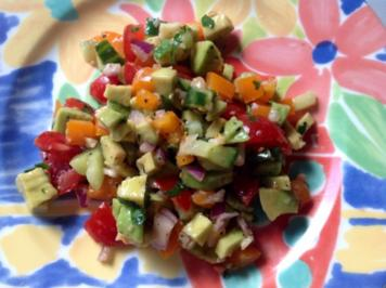 Rezept: Avocado Salat