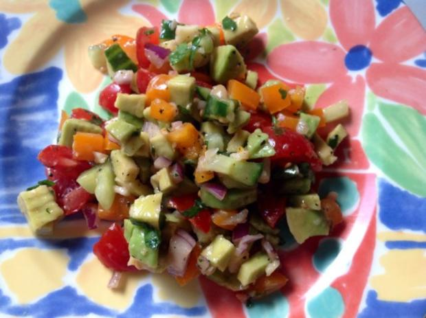 Avocado Salat - Rezept