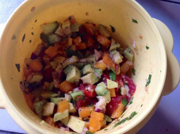Avocado Salat - Rezept - Bild Nr. 2