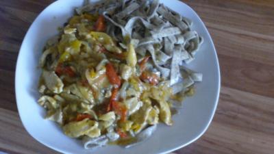 Paprika-Hähnchengeschnetzeltes ala Michi - Rezept