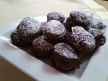 Kakao-Macarons mit Baileysganache - Rezept