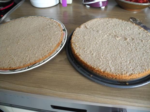 Vegan : Erdbeer - Pudding - Kuchen - Rezept - Bild Nr. 14