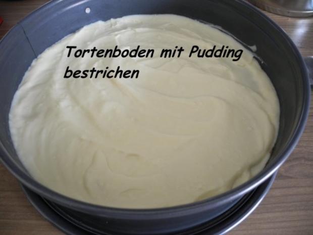 Vegan : Erdbeer - Pudding - Kuchen - Rezept - Bild Nr. 16