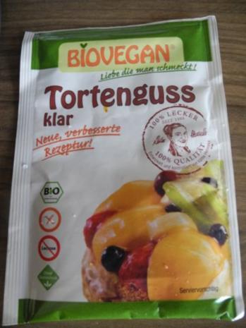 Vegan : Erdbeer - Pudding - Kuchen - Rezept - Bild Nr. 17