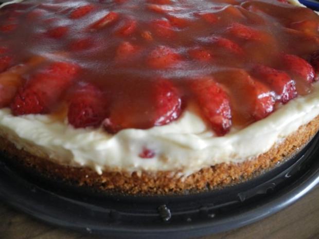 Vegan : Erdbeer - Pudding - Kuchen - Rezept - Bild Nr. 2