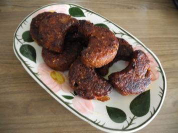 Vegan : Hirse - Sesam - Gemüse - Monde (Bratlinge) - Rezept