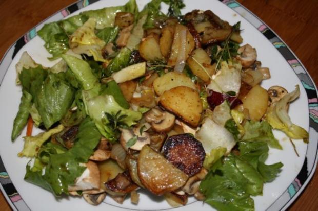 Bratkartoffelsalat - Rezept - Bild Nr. 2