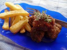 Curry -Bällchen mit Mango-Ketchup -Dip - Rezept