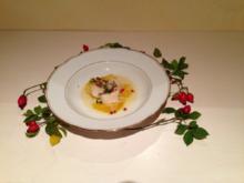 Jakobsmuschel an  Fenchelschaum - Rezept